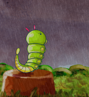 Caterpie by ice-cream-skies