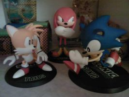 Unboxed New Sonic Figures by funkyjeremi