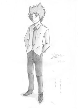 Issun Noteriver sketch uniform by SilverGeneration