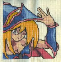 X-Stitch- Dark Magician Girl by missy-tannenbaum