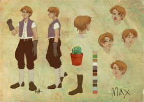 Character Sheet - Max by thecapturedspy