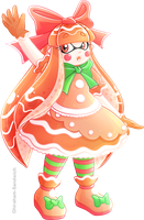 Gingerbread Inkling by Ghiraham-Sandwich