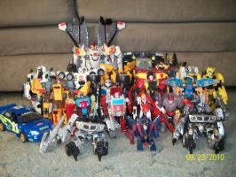 All my Autobots by blackout17