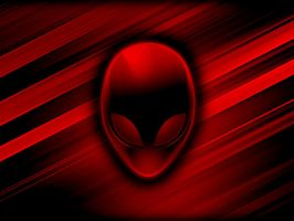 AlienWare Dark Red by sinanacar