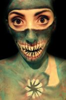 Monster- Makeup by CamilaCostaArt