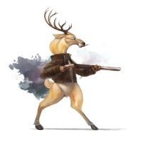 Deer hunter by Silverfox5213