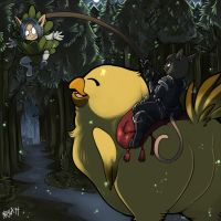 How To Train Your Fatass Chocobo by Kayla-Na