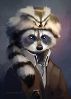 Carded 2013 - Coon skin cap by TangoCharlieESQ
