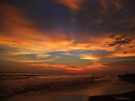sunset on nuevo altata beach 6 by noohohIcant