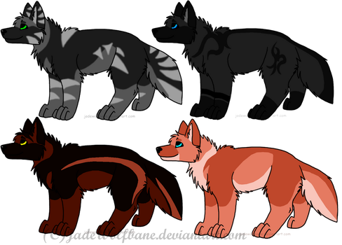 Puppy Adoptables -Open- by Jamie-Adopts
