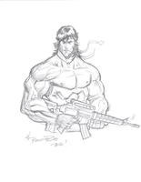 Jerry Gaylord Rambo by CJZ