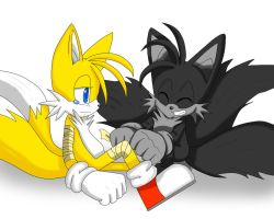 RQ:Tails and Merrick by ss2sonic