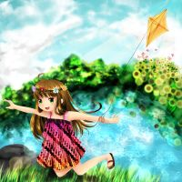 CRave for playing kite by chiPencil