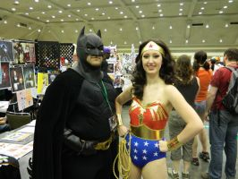Wonder Woman and Batman by OtakuUnited