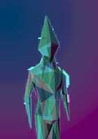 Polygon Alien by ApeJazzPistol