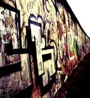Berlin wall by ZoeWieZo