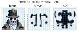 Rorschach Tee Pro-Pattern by AngstyGuy