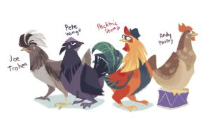 Fowl Out Boy by Bedupolker