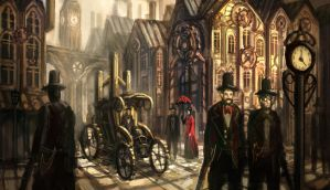 Infernal Devices- London by eddie-mendoza