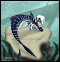 Happy Birthday Feri 8D by cindre