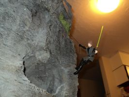 Assaulting the cave by toyphototaker