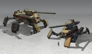 Design Mech Tanks 2 by Nass625