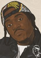 Pusha T by EarnSomeHeight