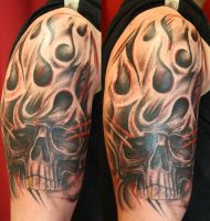 skull stuff by SimplyTattoo