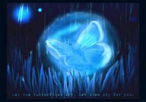Butterfly Tears by princekyo4ever