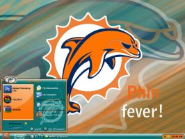 Miami Dolphins by graffitimaster