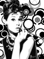 Audrey Hepburn by Smuxy