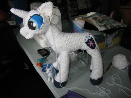 Shining Armor in progress by s0nicfreak