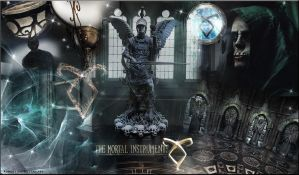 THE MORTAL INSTRUMENTS PREMADE BACKGROUND by VaL-DeViAnT