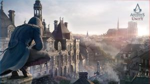 Assassin's Creed Unity - Wallpaper Arno Paris #2 by Zeioh