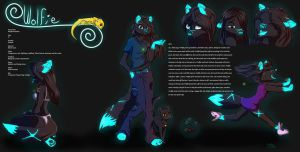 Wolfie Reference (Description updated) by Luminous-Wolfie