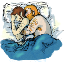 Honeyphos Cuddles by sacalow