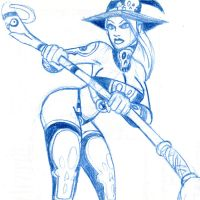 Pat Carlucci's Witchie Boo by whipsmartbanky