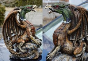 Ringneck Pheasant Dragon by Hbruton