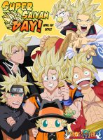 Super Saiyan Day by LadyGT
