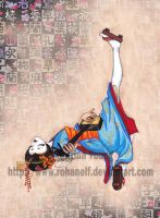 Shamisen Hero by RohanElf