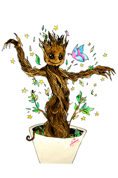 #069 Baby Groot by Shkvivi