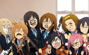 K-ON Rage by lavenderp