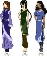 The Ladies of Avatar by SheWhoWalksWithThee