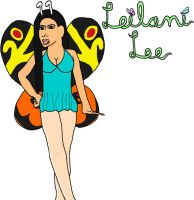 Leilani Lee: Butterfly by jamesgannon