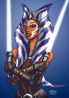 Ahsoka Tano by ADL-art