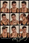 9 Faces Photo-shoot - Piers Nivans by xTh13teeNx