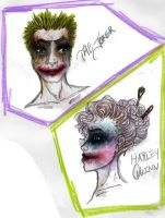 harley and puddin by jwcd889