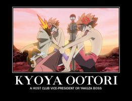 Kyoya Ootari Demotivational by Vcorb1