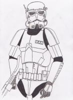 Commander Cody stormtrooper / unfinished teaser by Funtimes