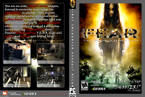 F.E.A.R. DVD Case Cover by rthaut